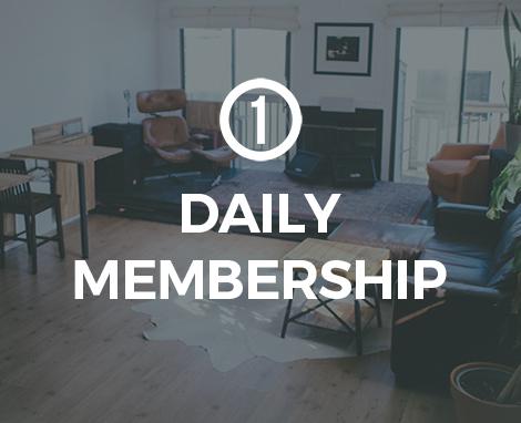 Daily Membership Creative Co-Working DC