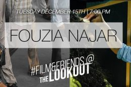 #Film&Friends Presents: Fouzia Najar