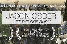 #Film&Friends Presents: Let the Fire Burn with Jason Osder