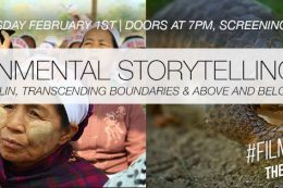 #Film&Friends Presents: Environmental Storytelling Night at The Lookout