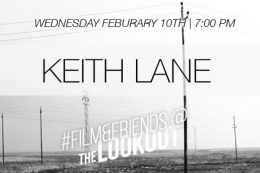 #Film&Friends Presents: Keith Lane