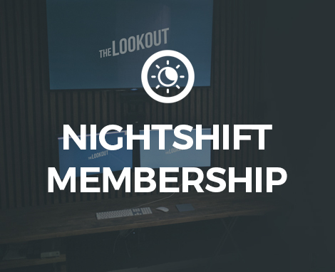 Nightshift Membership Lookout DC Creative Co-working