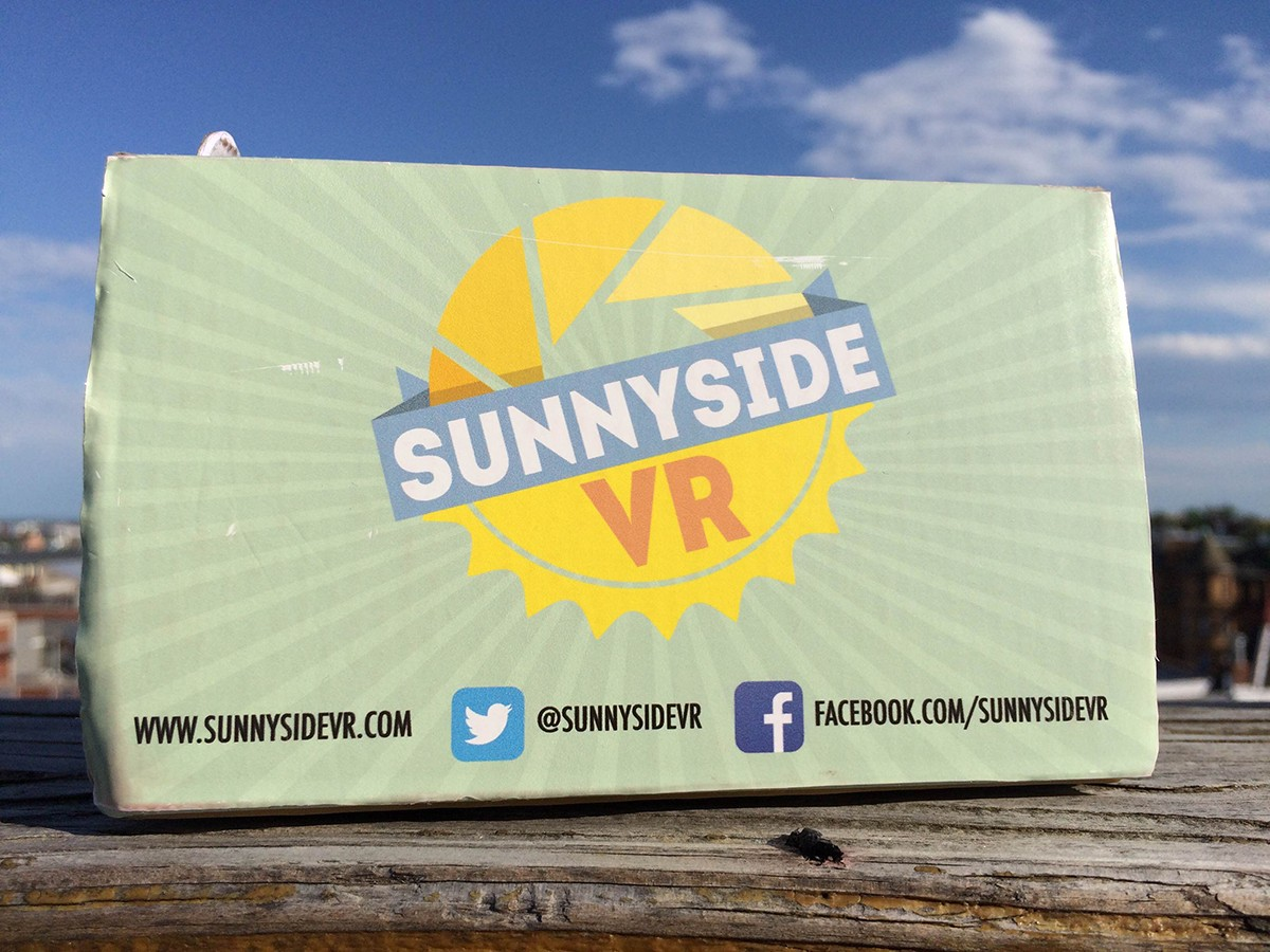 Sunnyside of Virtual Reality - Lookout DC Creative Coworking