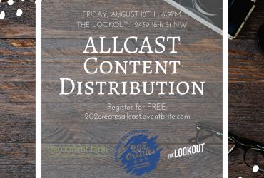 202Creates Presents: Allcast Content Distribution at The Lookout