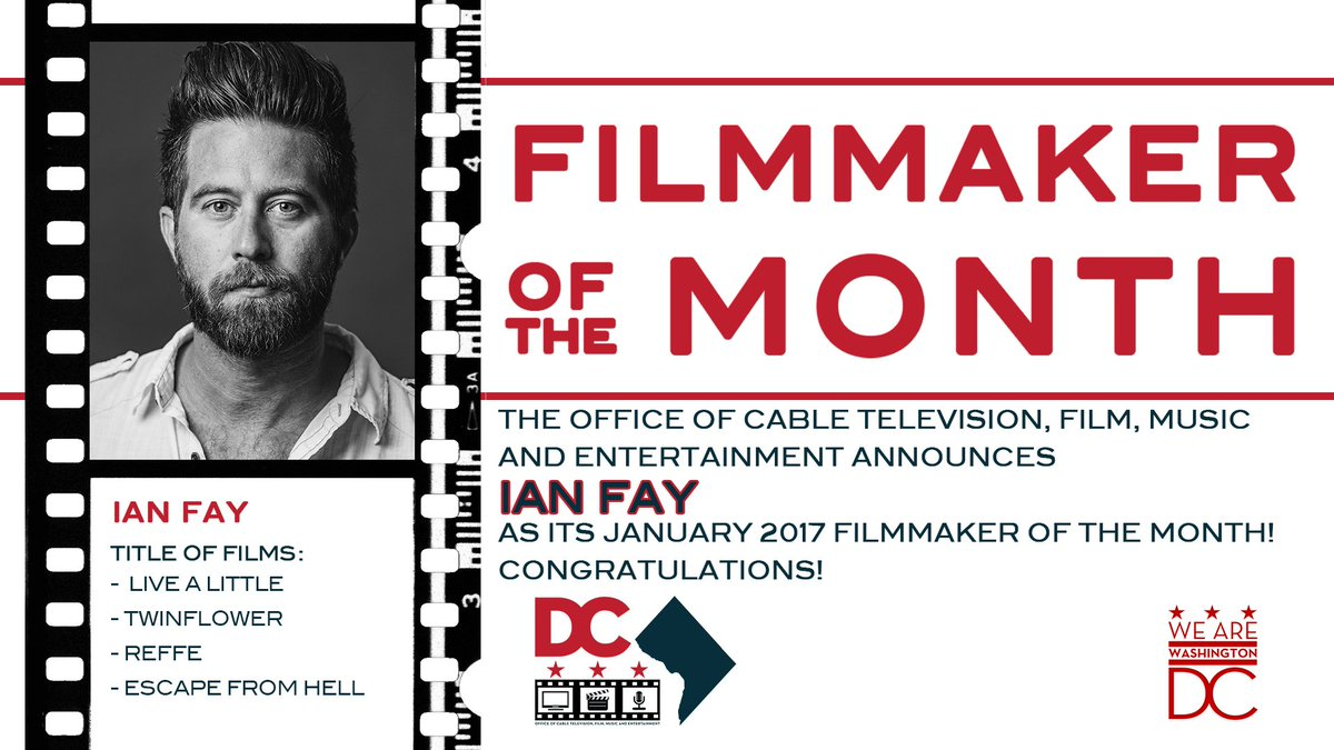 Ian Fay Filmmaker Of The Month OCTFME